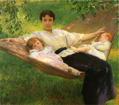 Joseph DeCamp, The Hammock, c.1895