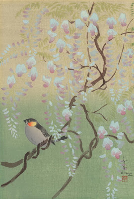 Woodblocks and Prints by Japanese Painter Bakufu Ohno