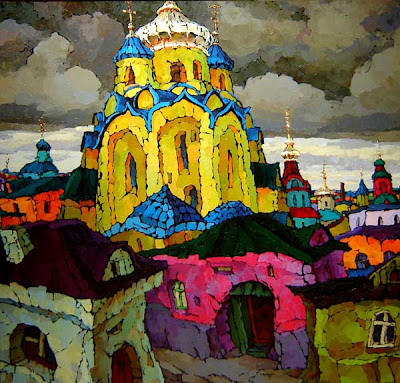 Painting by Russian Artist Valery Veselovsky