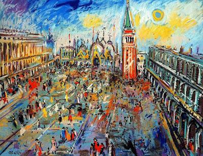 Paintings by Joan Abello Spanish Artist