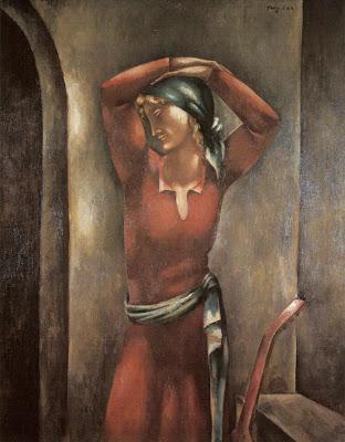 Painting by Eugeniusz Zak Polish Artist