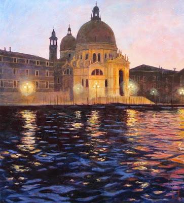Oil Painting by German Artist Uwe Herbst