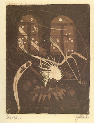 Graphic Art of Czech artist Josef Vachal