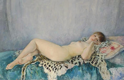 Nude Painting by Henri Lebasque French Artist