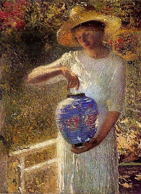 Painting by American Impressionist Artist Helen M. Turner
