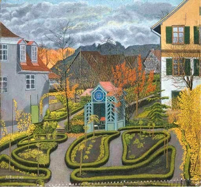 Oil Paintings by Swiss Naive Artist Adolf Dietrich
