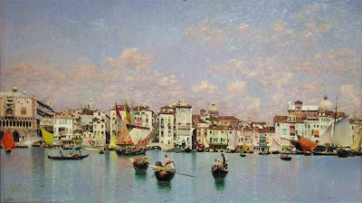 Landscape Painting by Spanish Artist Laureano Barrau