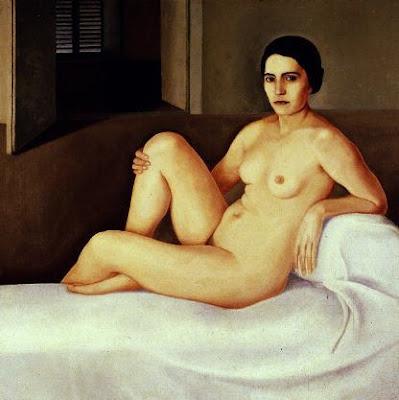 Nude Painting by Italian Artist Antonio Donghi