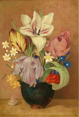 Painting by Maxwell Armfield British Artist