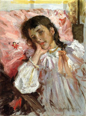 Children in Painting by William Merritt Chase