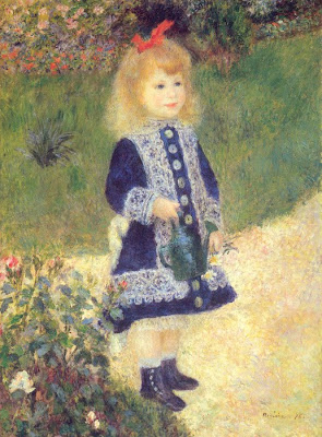 Children in Painting by Pierre Auguste Renoir