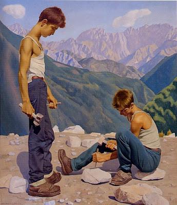 Paintings by Italian Artist Ugo Celada da Virgilio