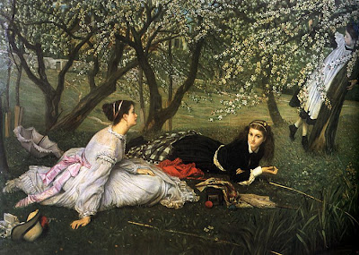 Spring Bloom in Painting. James Jacques Joseph Tissot, Spring