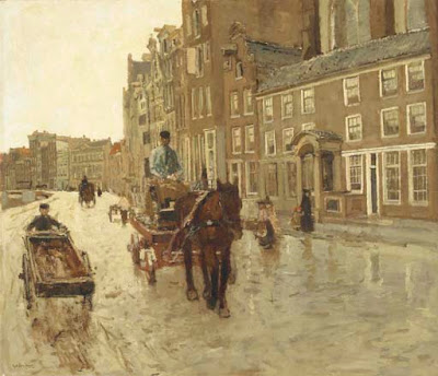 Amsterdam in Painting by Dutch Artist George Hendrik Breitner