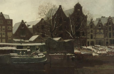 Landscape Painting by Dutch Artist George Hendrik Breitner