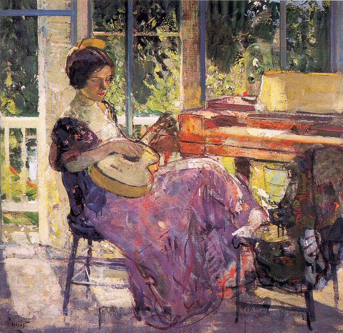 Richard Emil Miller 1875 1943 American Impressionist