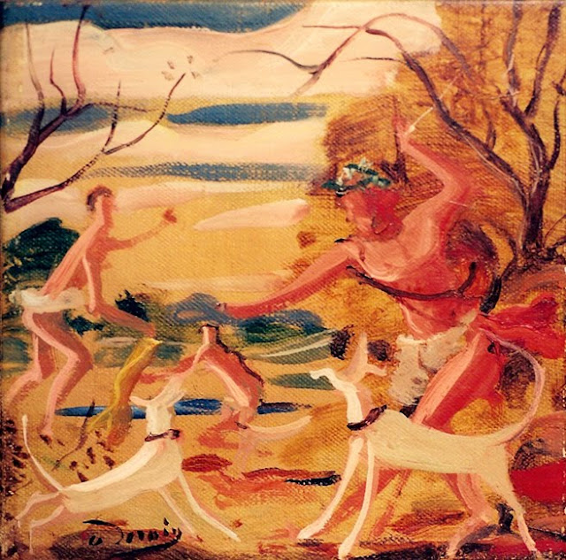 Paintings by French Artist Andre Derain