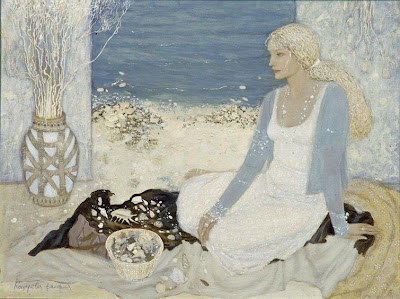 Women in Painting by Russian Artist Valeria Kotsareva