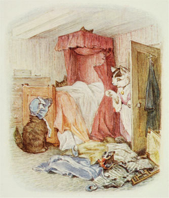 Beatrix Potter illustration,Victorian Edwardian artists,book illustration,British artists