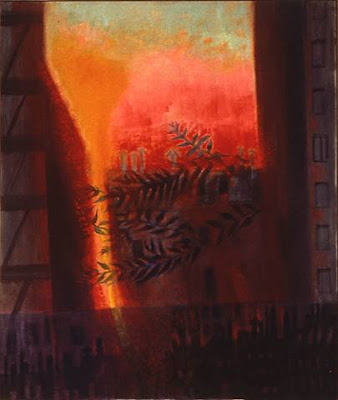 Loren MacIver. New York Sunset 1981