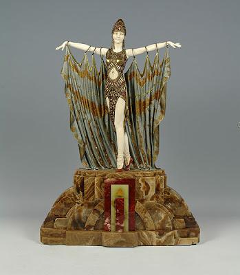 Art of Demètre Chiparus Art Deco Sculptor