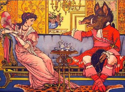 Illustration by Victorian Artist Walter Crane