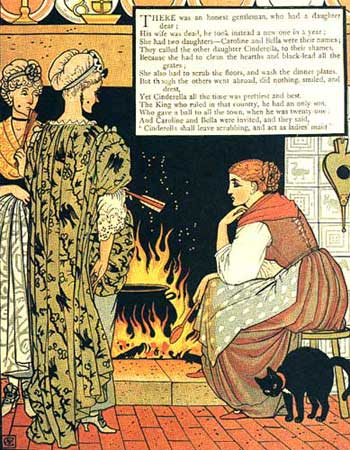 Illustration by Walter Crane Victorian Artist