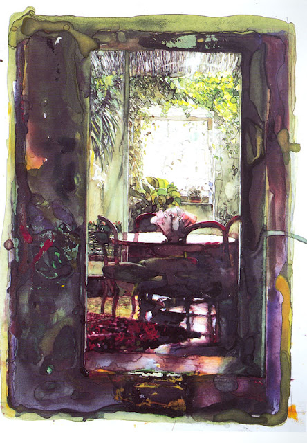Watercolors by Anna Lequio Italian Artist