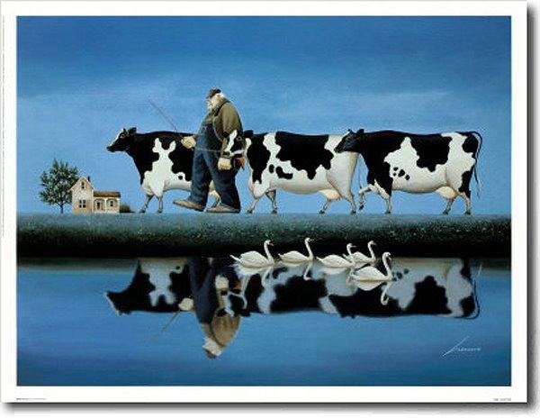 Paintings by American Artist Lowell Herrero