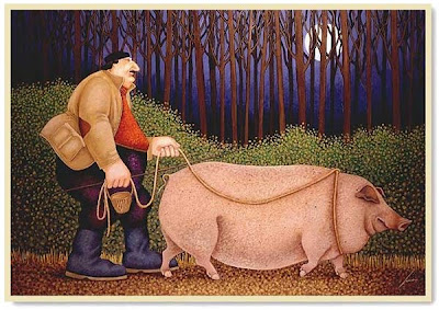 Paintings by American Artist Lowell Herrero