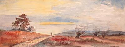 Landscape Painting by Polish Artist Ada Florek