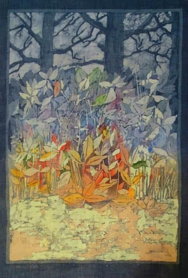 Batik Art of Ada Florek Polish Artist