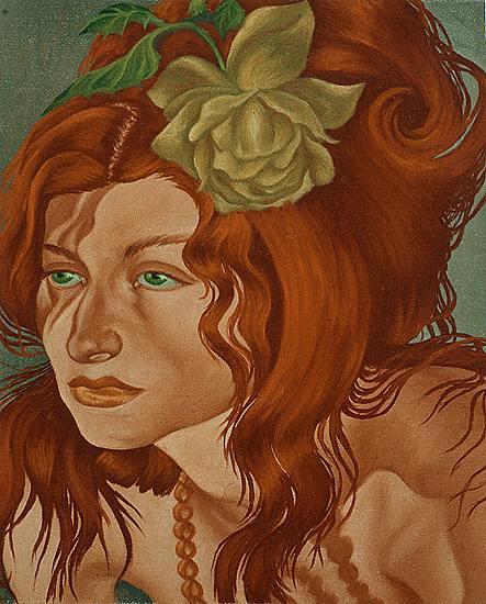Ariane Krischke,German artist,figurative paintingAriane Krischke,German artist,figurative painting