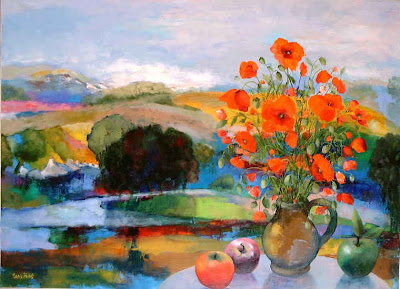 Maurille Prevost. Poppies