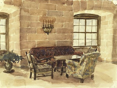 Drawings and Watercolors by Hitler