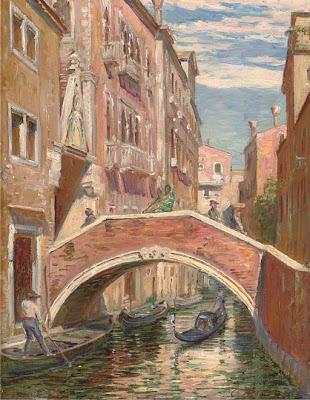 Carl Budtz Moeller. A Venetian Backwater