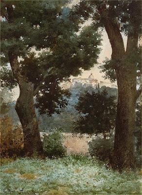 Ettore Roesler Franz. Albani Castle Gandolfo