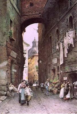 Ettore Roesler Franz. Via della Pedacchia