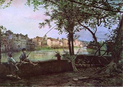 Ettore Roesler Franz. Farnesina in Rome