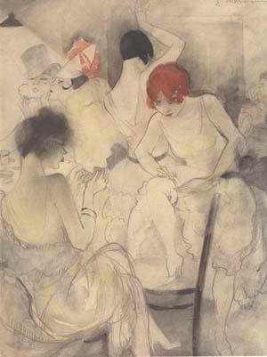 Jeanne Mammen, German artist,Weimar era artist, graphics, Lithograph