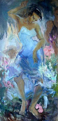 Vesna Akramovskaya. Dancing in the Garden