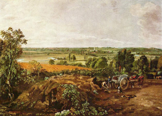 John Constable, A Summer Day in the Countryside. Summer Themed Oil Paintings