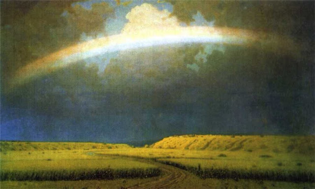 Arkhip Kuindzhi. Rainbow, 1900-05, Summer Themed Oil Paintings