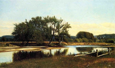 James McDougal Hart. River Reflections, 1865
