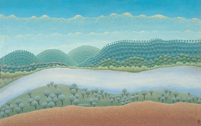 Ivan Rabuzin, Croatian artist, naive art, naive painting