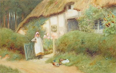 Arthur Claude Strachan's Watercolors