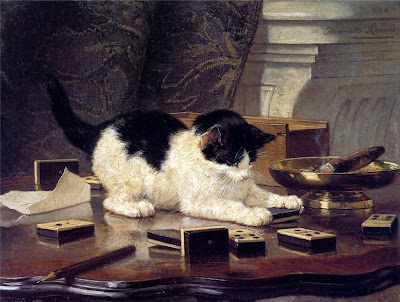 Painting by Henriette Ronner-Knip