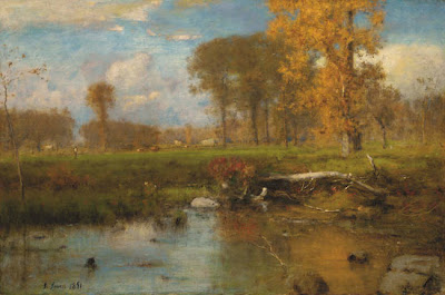 George Inness. Painting