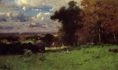 George Inness. A Breezy Autumn