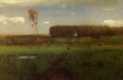 George Inness. October Noon